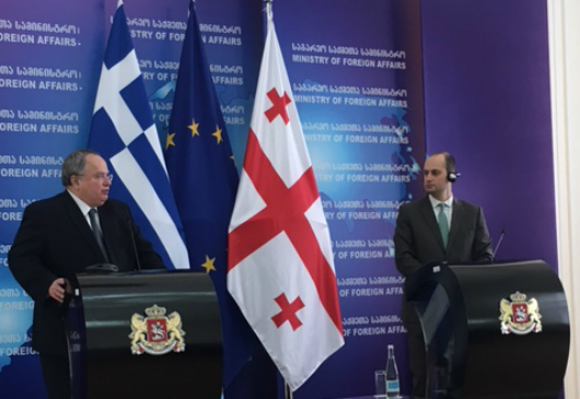 Joint statements of Foreign Minister N. Kotzias and his Georgian counterpart, M. Janelidze, following their meeting (Tbilisi, 7 March 2017)