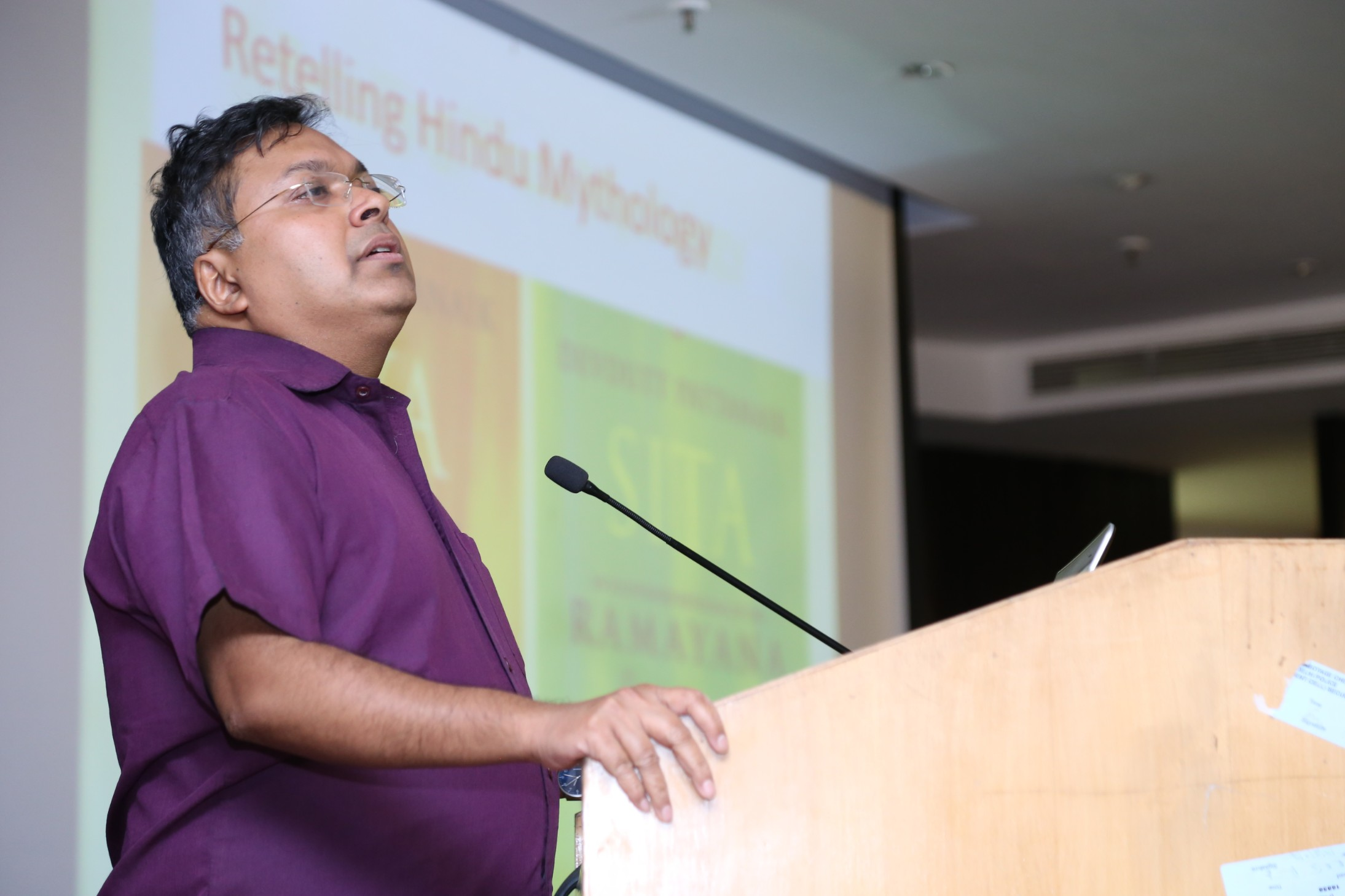 Talk by Devtutt Pattanaik