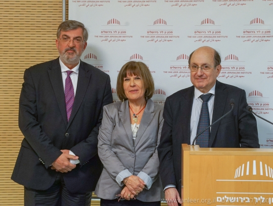 Ambassador Lampridis inaugurated on Tuesday 12/01/16 a series of lectures which will take place at The Van Leer Jerusalem Institute and at the Haifa University from January to June 2016