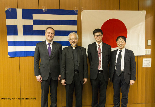 Lecture by Father Yuichi Nakanishi organized by the Japan- Greece Society