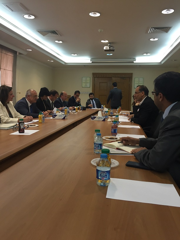 Deputy FM Mardas carries out visit to Jordan (9-10 May 2016)