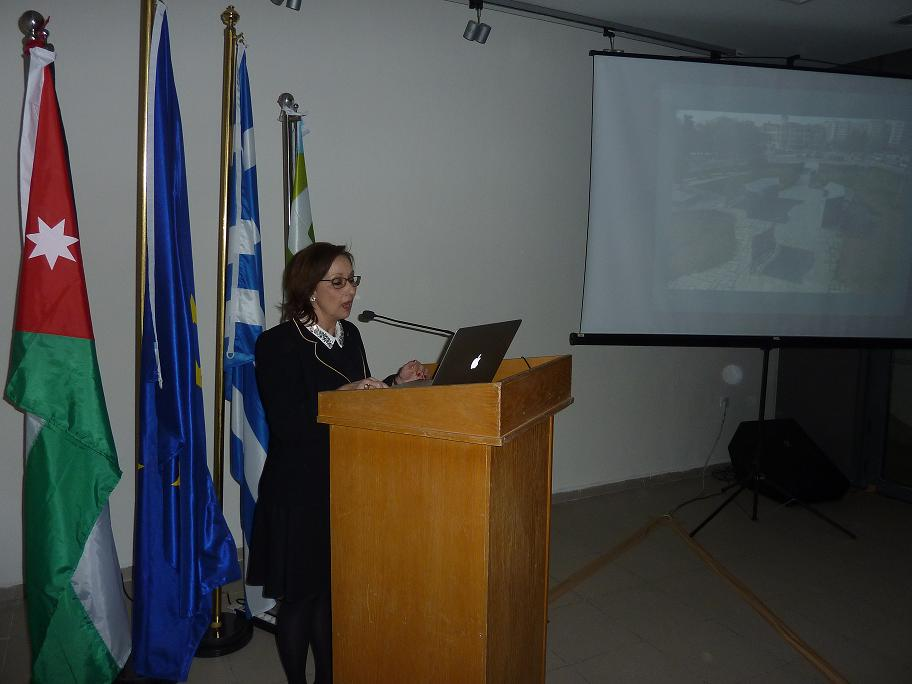 Mrs Adam Veleni, Director of Archaeological Museum of Thessaloniki