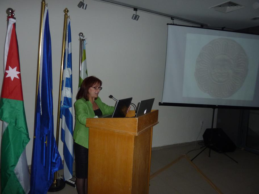 Mrs Aggeliki Kottaridi, Director of Museum of Vergina