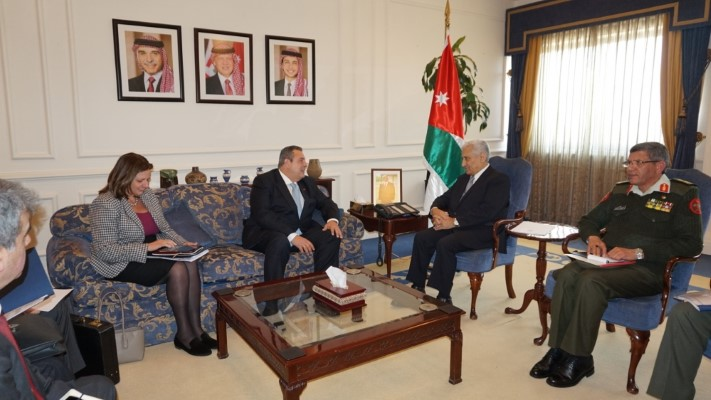 Official visit of the Minister of National Defence Mr. P. Kammenos