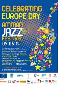 Celebrating Europe Day in Amman