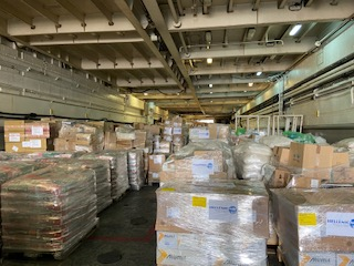 Greek humanitarian assistance at the port of Beirut