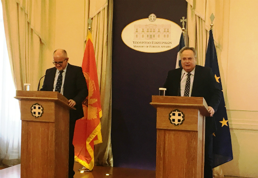 Joint statements of Foreign Minister N. Kotzias and the Foreign Minister of Montenegro, S. Darmanovic, following their meeting (Athens, 13 June 2017)