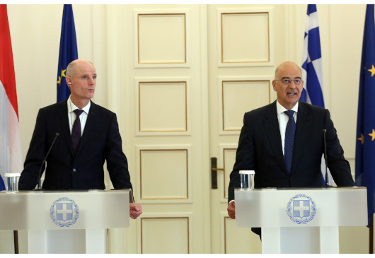 Statements of the Minister of Foreign Affairs, Nikos Dendias, following his meeting with his Dutch counterpart, Stef Blok (Athens, 28 November 2019)