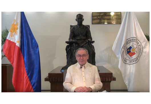 Message of the Secretary of Foreign Affairs of the Republic of the Philippines,Mr.Teodoro Locsin Jr.,on the occasion of the bicentenary anniversary since the Greek Struggle for Independence(1821-2021)