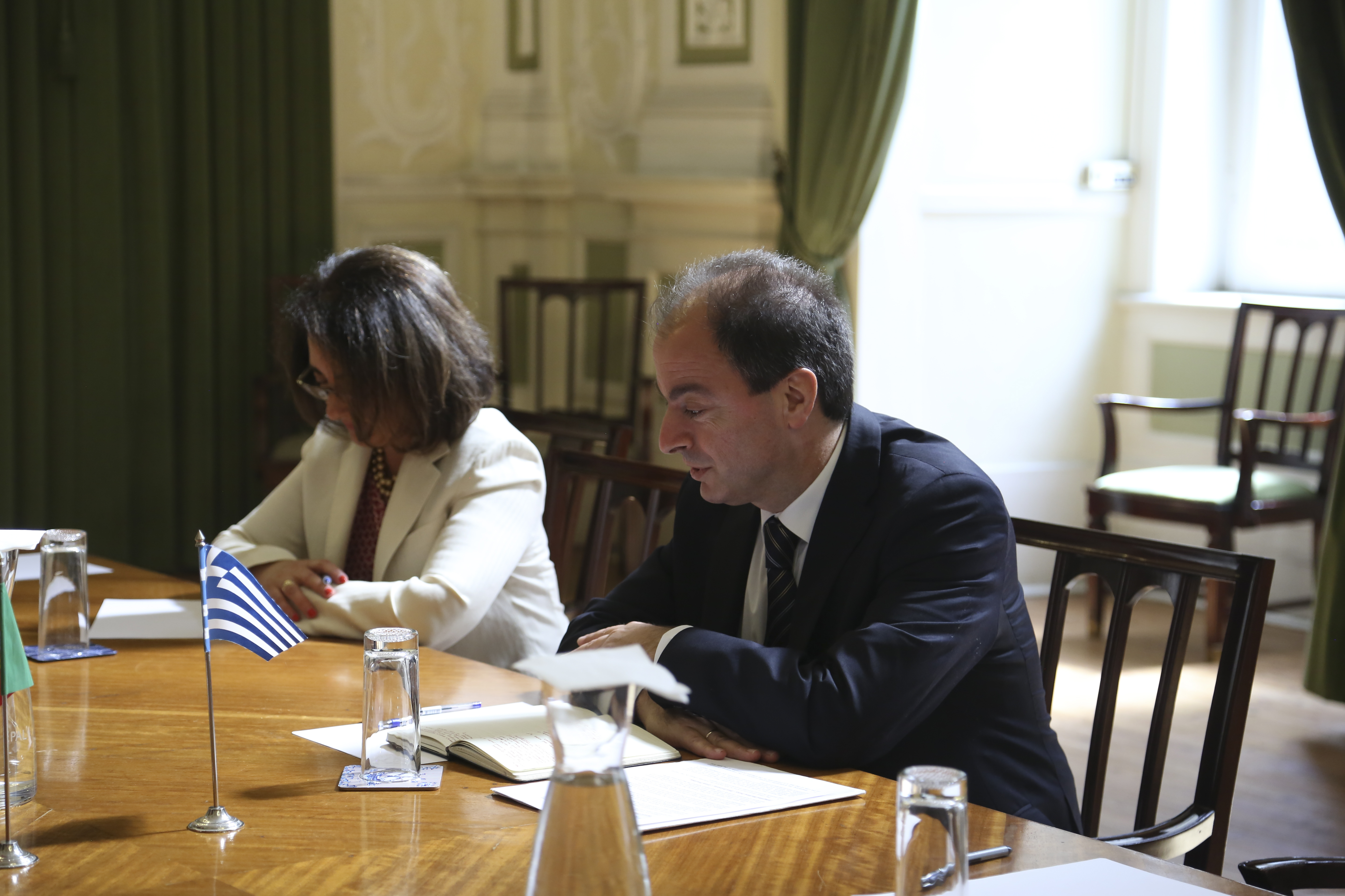Meeting with the Portuguese Minister for Maritime Affairs