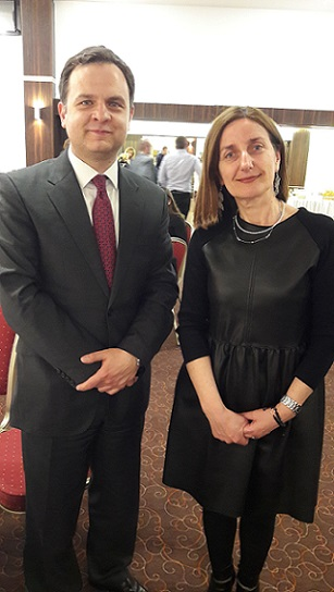 Participation of Consul N. Fouyas at the event of Erasmus