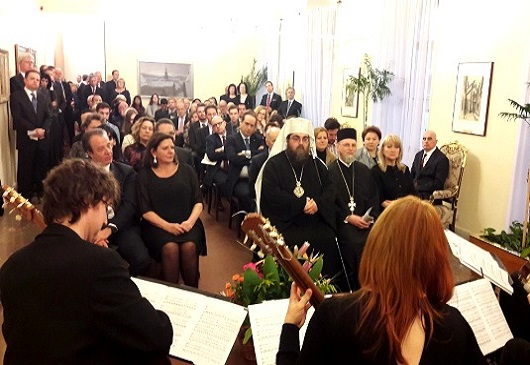 Commemoration of the 198th anniversary of Greek Independence Day in Slovakia (Bratislava, 26/3/2019)