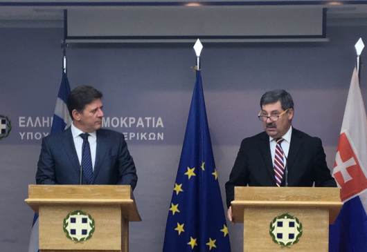Alternate Minister of Foreign Affairs M. Varvitsiotis' statement following his meeting with the State Secretary of the Ministry of Foreign Affairs of Slovakia, F. Ružička (Athens, 20 September 2019)