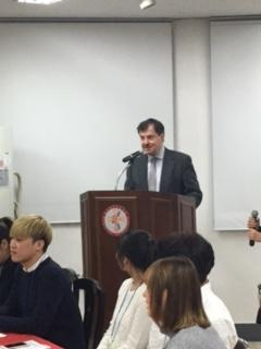 Greek poetry and music event by the Greek Studies Department of Hankuk University