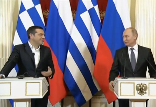 Statements by the Prime Minister and Minister of Foreign Affairs, Alexis Tsipras, at the joint press conference with the President of the Russian Federation Vladimir Putin (Moscow, 7.12.2108)