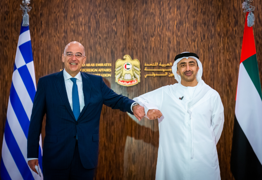 Statement by the Minister of Foreign Affairs, Nikos Dendias during his visit to the United Arab Emirates (Abu Dhabi, 09.06.2021)