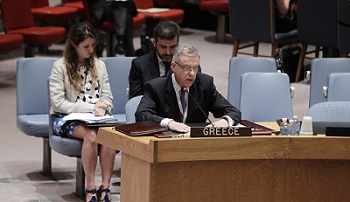 Protection of journalists in armed conflicts-Open debate in the Security Council-Statement of the PR of Greece to the UN, Ambassador M. Spinellis