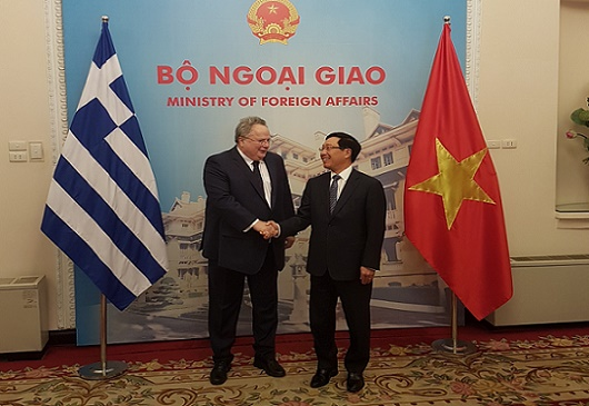 Historic visit of FM N. Kotzias to Vietnam (13-15 February 2017)