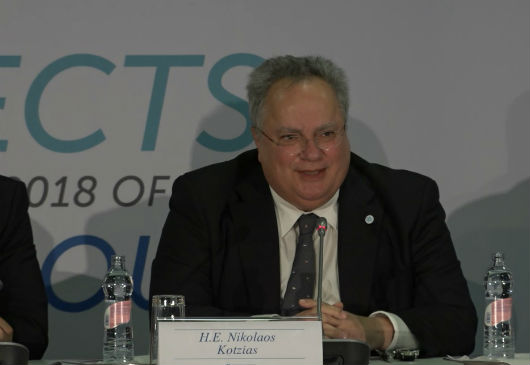 Statement of the Minister of Foreign Affairs, N. Kotzias, at the joint press conference following the meeting of Ministers of Foreign Affairs of the Visegrad 4 and the Balkan EU member states (Balkan 4), in Budapest (4 December 2017)