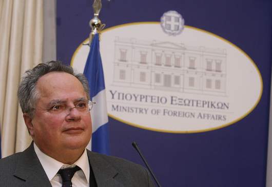 Statement of the Minister of Foreign Affairs, Nikos Kotzias, following a meeting under Prime Minister, Alexis Tsipras (Athens, 4.1.2018)