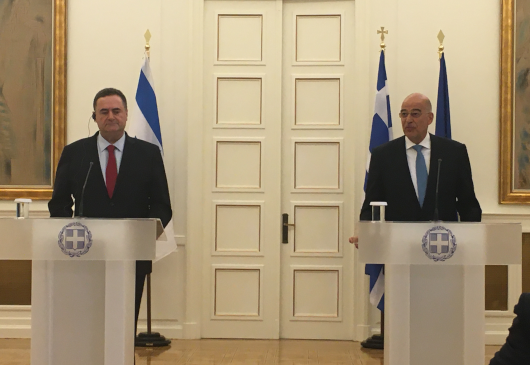 Statement of the Minister of Foreign Affairs, Nikos Dendias, following his meeting with his Israeli counterpart, Israel Katz (Athens, 31 October 2019)