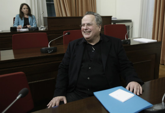 Foreign Minister Kotzias' briefing of the Parliamentary Standing Committee on Defense and Foreign Affairs (18 March 2015, Parliament)