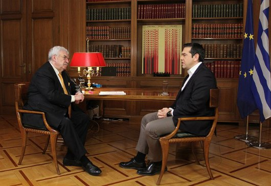 Interview of the Prime Minister and Minister of Foreign Affairs Alexis Tsipras to the ITAR TASS News Agency with journalist Mikhail Gusman