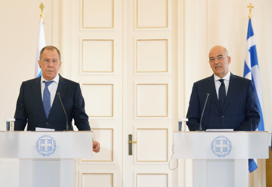 Statements of the Minister of Foreign Affairs, Nikos Dendias, following his meeting with the Minister of Foreign Affairs of the Russian Federation, Sergey Lavrov (Athens, 26 October 2020)