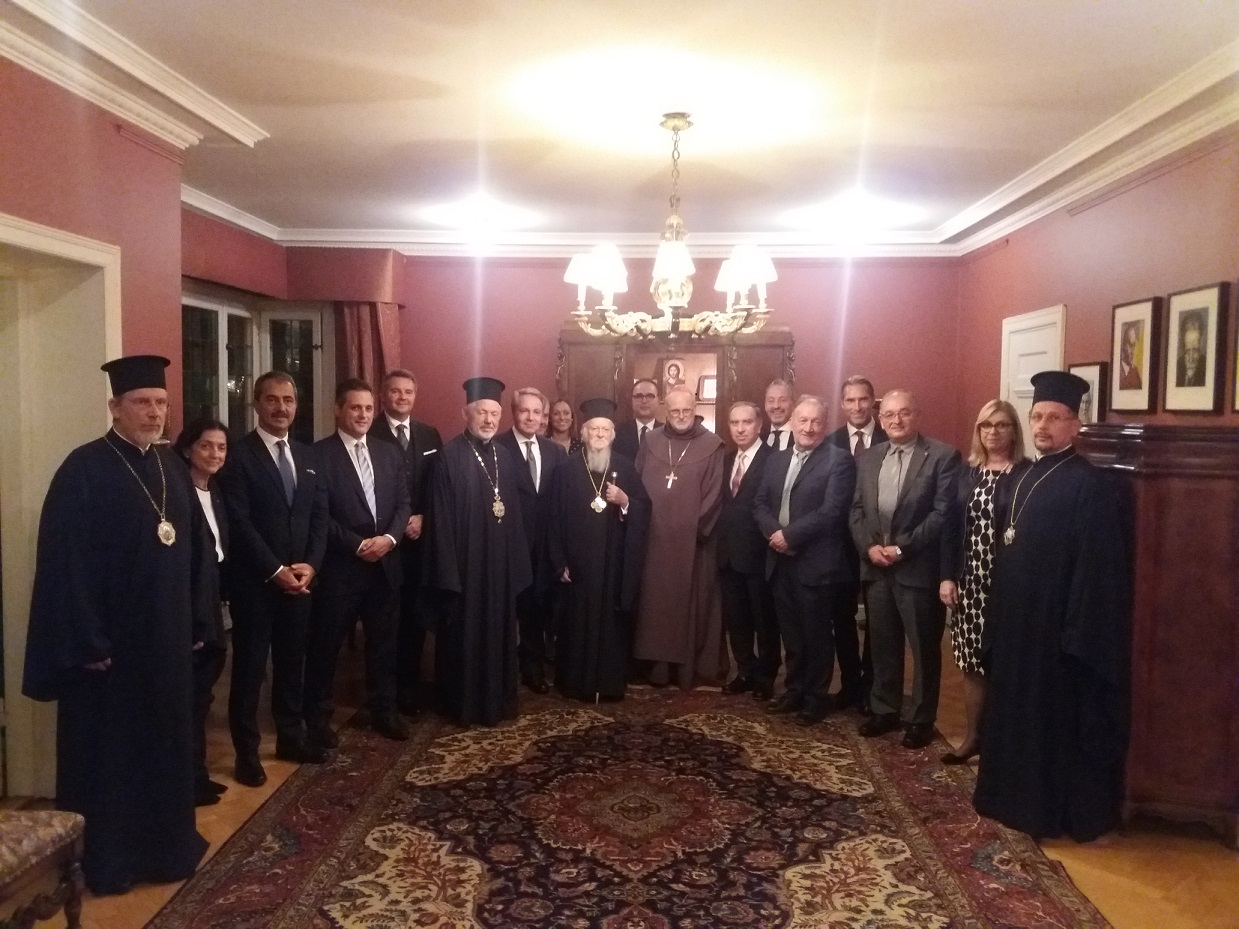 Historical visit of his All-Holiness the Ecumenical Patriarch Bartholomew