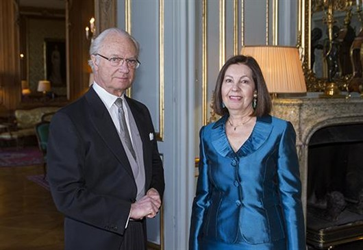 The King held a farewell audience for the ambassador from Greece