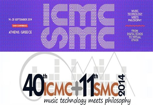 Joint Conference, Music Technology meets Philosophy: From Digital Echos to Virtual Ethos. Athens, 14-20 September 2014