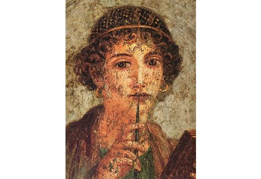 Sappho through the ages. Medelhavsmuseet. Sunday March 15th, 2015