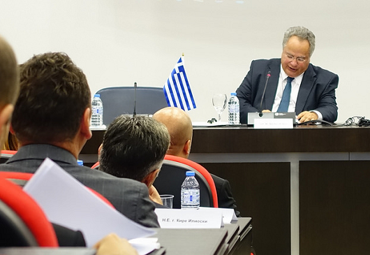 Greece's foreign policy aims at stabilizing our region
