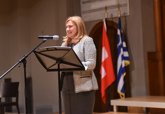 The Embassy of Greece in Switzerland celebrated its 100th anniversary with a concert by the Greek choir ROSARTE