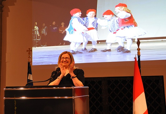 Reception of the Embassy of Greece to Switzerland on the occasion of the National Day of Greece, Bern, 25.03.2019