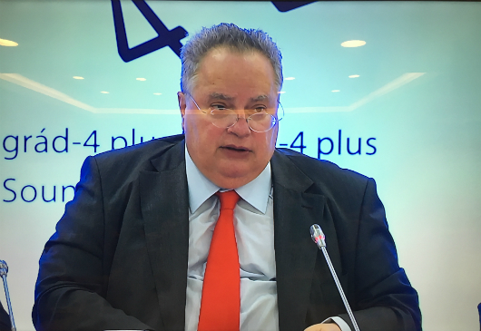 Opening speech by Nikos Kotzias, Minister of Foreign Affairs of Greece, at the Second Meeting of the Ministers of Foreign Affairs of the Visegrad Group and the Balkan EU Member States (Sounion, 11 May 2018)