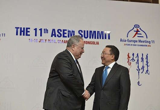 Greece is a natural gateway between Europe - Asia and a factor of stability in the region