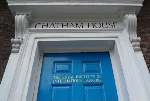 "The Greek Ambassador participates in Chatham House's roundtable workshop entitled ""The Future of Europe's Single Market: Fracture, Consolidation or Status Quo?"""