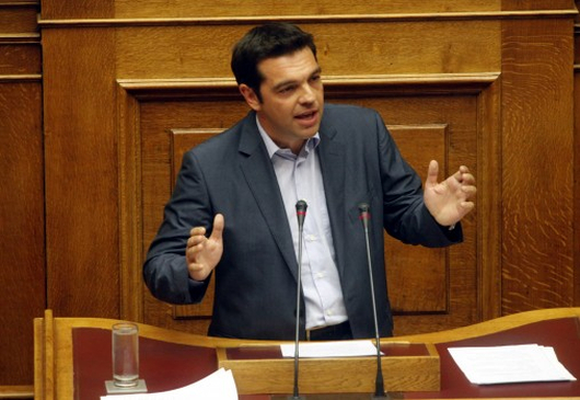 PM Alexis Tsipras' speech at the Greek Parliament for the issue of the German reparations